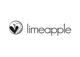 Lime Apple Logo with Heart